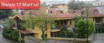 İstanbul Defterdarlığı'ndan Üsküdar'da Satılık Villa