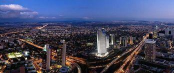 İstanbul'un Ofis Üssünde Fiyatlar Uçtu
