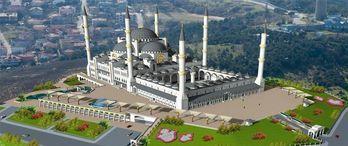 Emlak Konut'tan Çamlıca Camisi'ne büyük bağış