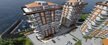 Sea Garden Projesi Trabzon Araklı'da Yükseliyor