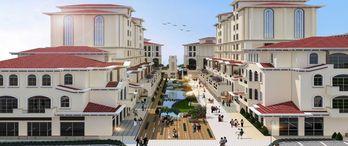 Emlak Konut Körfezkent Çarşı için Ahes İnşaat'a yer teslimini gerçekleştirdi