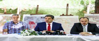 Esenler'de kentsel dönüşüm kapsamında 74 bin konut yenilenecek