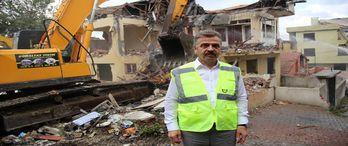 Gaziosmanpaşa'da kentsel dönüşüm çalışmaları hız kesmeden sürüyor