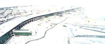 3.Havalimanı projesinin yolcu köprüleri ilk kez görüntülendi