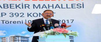 Çevre ve Şehircilik Bakanı Özhaseki: Rekor sayıda konut yenileyeceğiz