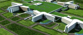 İkitelli Şehir Hastanesi'nin zemin düzeltme ve kazık çalışmaları başladı