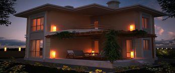 Kaynak Koru Villaları fiyatları 150 bin Euro'dan başlıyor