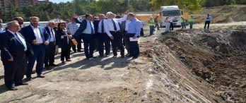 Kütahya'da inşa edilecek şehir hastanesi şantiyesinin temelleri atıldı