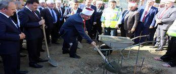 Üsküp'te yapılacak Tophane Merkez Camisi'nin temeli atıldı
