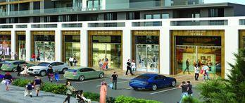 Vadişehir cadde dükkânları yarın satışa çıkıyor