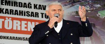 Başbakan Yıldırım: Afyonkarahisar-Ankara arası trenle 1,5 saate inecek