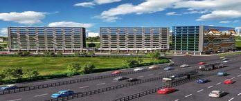 Keleş Center Airport projesi Küçükçekmece'de yükseliyor