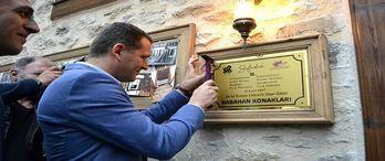Safranbolu'da en iyi restore edilen ev plaket aldı