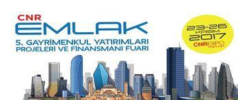 CNR Emlak Fuarı 23 Kasım'da İstanbul'da başlıyor