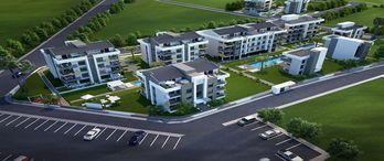 Forbest Oliva projesi yeşiller içerisinde sağlıklı bir yaşam alanı sunuyor