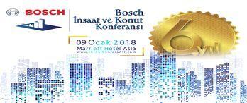 Bosch İnşaat ve Konut Konferansı 9 Ocak'ta