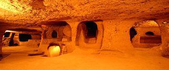 Kentsel dönüşümle 4 bin yılık yeraltı şehri bulundu