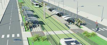 Konak Tramvayının test sürüşü Şubat'ta yapılacak