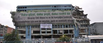 Aksaray'daki İSKİ binası ihaleye çıkacak