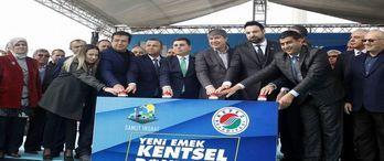 Antalya Emek kentsel dönüşüm projesinde temel atıldı