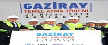 Gaziray'ın temel atma töreni yapıldı