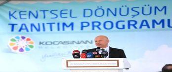 Kayseri Kocasinan kentsel dönüşüm projesi tanıtıldı