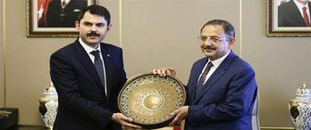 Çevre ve Şehircilik Bakanlığı'na Murat Kurum'un atanması konut üreticilerini memnun etti