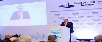 7. İnşaat ve Konut Konferansı'nda sektörün nabzı tutuldu