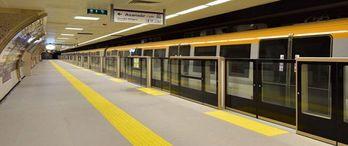 Beşiktaş metrosunda çalışmalar sürüyor