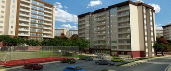 Ankara'da 12 bin 500 sosyal konutun inşası sürüyor
