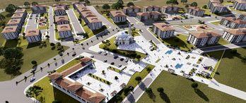 İzmir Aliağa'daki sosyal konutlar 2022'de tamamlanacak