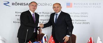 Rönesans Holding ile Rusya DIF 400 Milyon Dolarlık Anlaşma İmzaladı