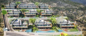 Tepe Modern Villaları'nda 500 Bin Euroya