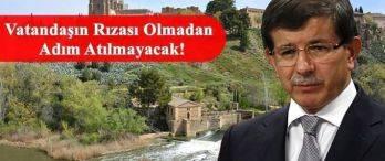Başbakan Davutoğlu'ndan Flaş Sur Açıklaması