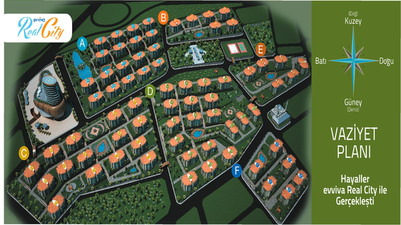 Evviva Real City Projesi