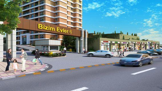 Bizim Evler 6 Metro Projesi