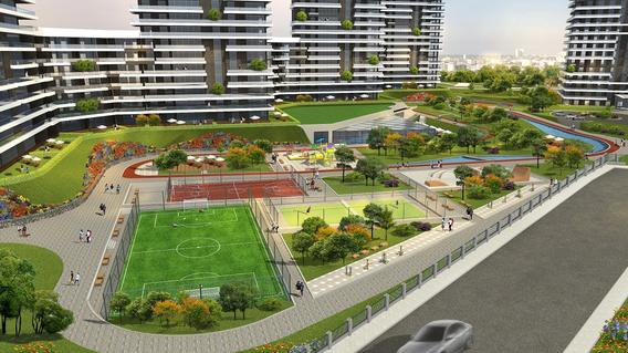 Akkent Paradise Gardens Residence Projesi