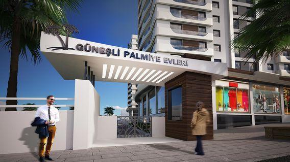 Güneşli Palmiye Bahçeleri Projesi