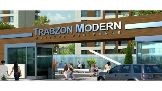 Modern Boztepe Residence Projesi