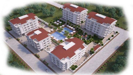 Antalya Kardelen Konutları Projesi