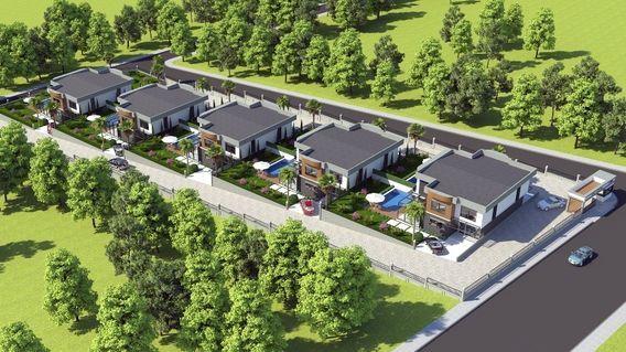 Grey House Bahçecik Projesi