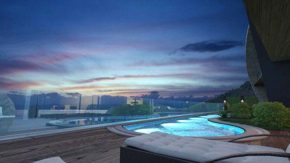 Tepe Modern Villaları Projesi