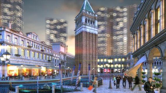Venedik Sarayları Projesi