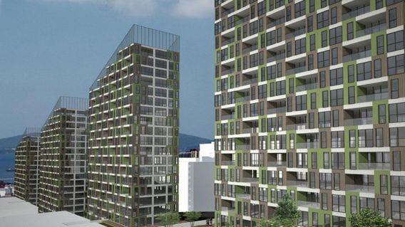 Sur Yapı Yeşil Mavi Projesi