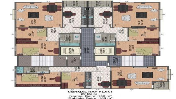 Ziverbey Öngen Apartmanı Projesi