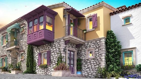Alaçatı 5 Taş Evler
