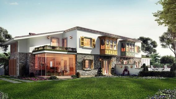 Urla Bağyolu Evleri Projesi