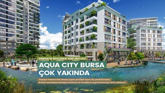 Sinpaş Aqua City Bursa Projesi
