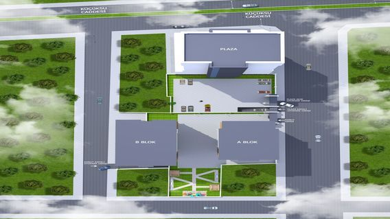 Tek Merve Plaza Projesi