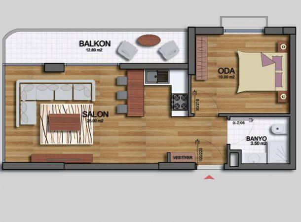 Ak n 688 eryaman etimesgut ak n n aat a yeni emlak for 30 m2 salon dekorasyonu